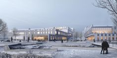 Albano University Facilities, Sweden, Christensen & Co Arkitekter, 2016