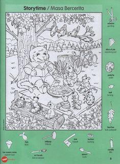 Hidden Picture Games, Hidden Picture Puzzles, Hidden Games, Classroom Rewards, Classroom Crafts, Highlights Hidden Pictures, Hidden Pictures Printables, Preschool Writing, Kids English