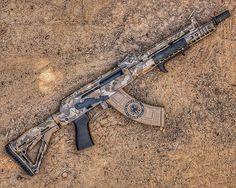 191 отметок «Нравится», 6 комментариев — MDC-Meridian Defense Corp (@meridian_defense) в Instagram: «Our FDE Camo VOLK! Built on a @sharpsbros MB47 milled Receiver! @fng_precision_coatings killing it…»