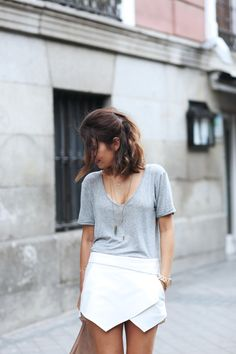 Seems like the ZARA skort is the staple for spring and summer. I'll have to invest.