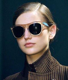 Fashion & Lifestyle: 3.1 Phillip Lim Sunglasses Fall 2012 Womenswear