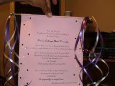 Creativity: Princess Scroll Invitation