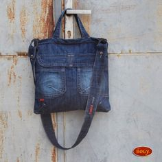 dámská džínová kabelka se šisováním 90900/NABL