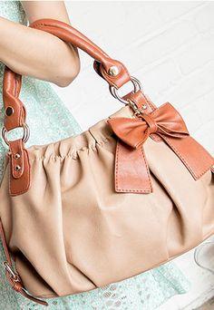 [grzxy62000109]Sweet Cute Mixing Color Bowknot Handbag