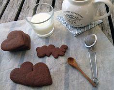 Galletas de vainilla y cacao
