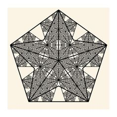 Image of Fractal Pentagram