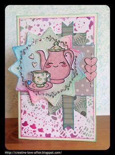 Creative Love Affair: Pretty Cute Stamps - May Sneak Peek!