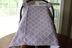 Personalized Minky Carseat Canopy Carseat by WishingStarsBoutique