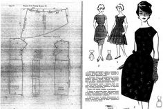 DIY Vintage 50s Dress - FREE Sewing Pattern (Draft)