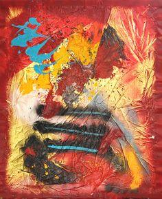 """""""PURI II"""" - 118alt. x 100larg. Técnicas mistas sobre tela. Depois do """"PURI I"""", surge esta obra que se pode conjugar com o primeiro criando um ambiente colorido e esteticamente equilibrado. Visite também a pagina oficial de ISABEL PINHEIRO em www.Facebook.com/ISABELPINHEIROARTE"""