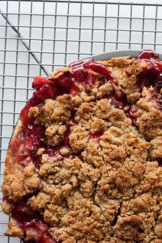 Strawberry Rhubarb Pie... with a Touch of Bourbon