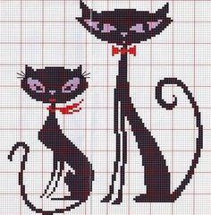 Cross Stitch Love, Beaded Cross Stitch, Cross Stitch Animals, Cross Stitch Charts, Cross Stitch Embroidery, Modern Cross Stitch Patterns, Cross Stitch Designs, Crochet Diagram, Tapestry Crochet