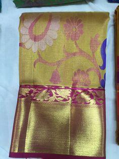 Sarvalakshmi Silks Shop Kanchipuram original pure silk saree manufacturers and wholesales shop. Buy kanchipuram silk sarees wholesale price in our best silk saree shop kanjipuram. South Indian Silk Saree, Indian Sarees, Silk Saree Kanchipuram, Kanjivaram Sarees, Pattu Saree Blouse Designs, Indian Outfits, Pakistani Outfits, Stylish Sarees, Elegant Saree