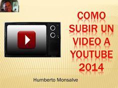 Como Subir Un Video  YouTube 2014
