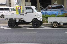 Jimny Suzuki, Kei Car, Light Truck, Lifted Cars, Cool Vans, Mini Trucks, Minivan, Diesel Trucks, Ford Ranger