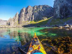 Glasklares Wasser, eiskalte Luft: Nördlich der Lofoten (Foto) gibt es eine...