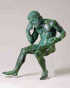 Ajax mélancolique (bronze du 1er siècle av. J.-C.)