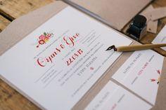 Wedding invitations by Atelier Invitations (προσκλητήρια γάμου)