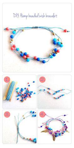DIY Wish Bracelet Bracelet