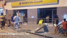 NONATO NOTÍCIAS: Bandidos explodem agência do Banco do Brasil de Iu...