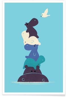 Birdie - Jay Fleck - Affiche premium