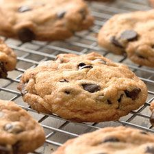 Self-Rising Chocolate Chip Cookies - The mellow protein level of King Arthur self-rising flour makes the edges of these cookies light and crisp, a delightful contrast to their soft, chewy middles.