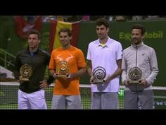 Doha: Doubles final trophy ceremony - Nadal News