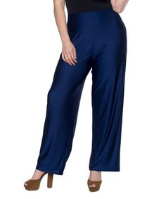 Love this Luna Navy Lily Pants - Plus on #zulily! #zulilyfinds