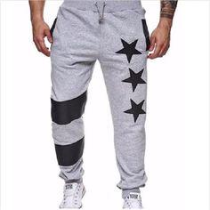 ece1097405 2018 New Men's Joggers Sweatpants Tracksuit Bottoms Slim Fit Casual Lo –  eticdress Fashion Pants,