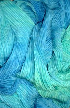 Aqua and Blue roving.