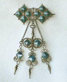 David Andersen solje pin (wedding pin) - not quite as nice as Marius Hammer's but pretty darn good!