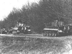 Tiger I column.