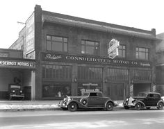 Used Car Dealerships In Memphis Tn >> Used Car Lot. Lancaster Ohio. 1938. | Old Gas Stations, Car Dealers, Service Garages,Gas Pumps ...