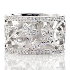 www.knoxjewelers.biz  Belladonna weddin band w/.60 G/VS2 tcw  set in 14k white gold
