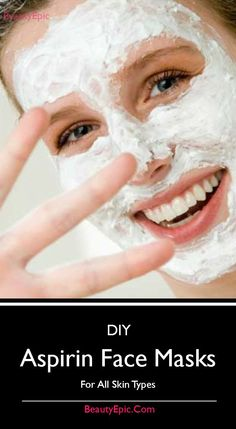 Aspirin Face Masks: Let us take a glance at a few reliable aspirin face packs for different skin types. #SkinCare