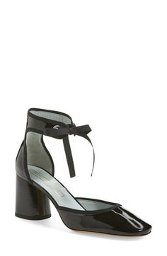 MARC JACOBS 'Tab Elle' Ankle Strap Pump