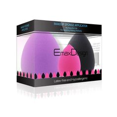EmaxDesign 3 Piece Makeup Blender Sponge Set, Foundation Blending Blush Concealer Eye Face Powder Cream Cosmetics Makeup Sponges. latex free, non-allergenic and odour free. -- Read more  at the image link.