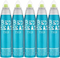 BED HEAD by Tigi MASTERPIECE SHINE HAIR SPRAY 9.5 OZ ( Package Of 5 ) Review