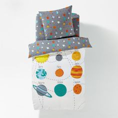 Other Image Planets Children's Printed Duvet Cover La Redoute Interieurs