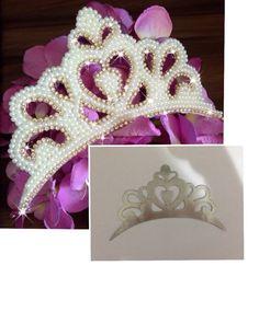 molde coroa princesa - Cristiane M.P.Blanco