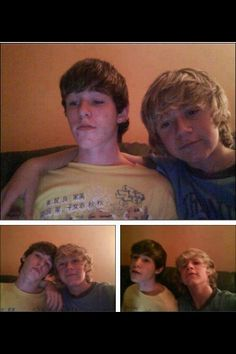 Never pass up a fetus picture of Niall and his best friend because you don't see that often.<<< his friend looks 15 and Niall looks 9 Ex One Direction, I Love Him, My Love, Irish Boys, Irish Men, James Horan, 1d And 5sos, Niall Horan