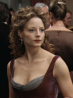 The Dress.  It also had a long jacket.  Gorgeous!  Anyone have a picture of the full length dress?? (Jodie Foster in Contact)