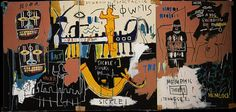 Jean-Michel Basquiat art | The Nile - Jean-Michel Basquiat - WikiPaintings.org