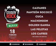 Cosquin Rock Guadalajara.