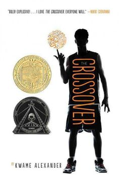 Winner of the Newberry Medal, The Crossover by Kwame Alexander uses rythmic free verse to tell the story of basketball-playing twins and their struggles on and off the court.