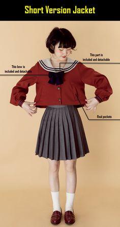 The Sweet Sailor Girl Sailor Lolita Jacket Kawaii Fashion, Lolita Fashion, Cute Fashion, Vintage Fashion, Japanese Fashion, Asian Fashion, Fashion Poses, Fashion Outfits, Mode Kawaii