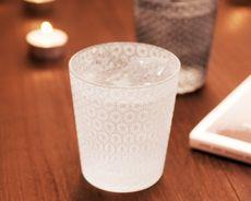 glass tableware for sake DECO 切子 オンザロック グラス