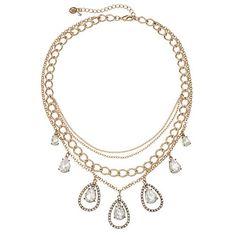 simply vera vera wang initial swag necklace simply vera
