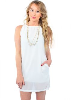 Sweet Dreams White Dress 19,90 € #happinessbtq