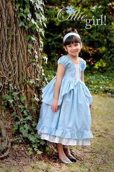cinderella dress ( I need to use the peasant dress pattern) Cinderella Dress Kids, Cinderella Costume, Little Girl Dresses, Girls Dresses, Flower Girl Dresses, Summer Dresses, Peasant Dress Patterns, Peasant Dresses, Everyday Princess